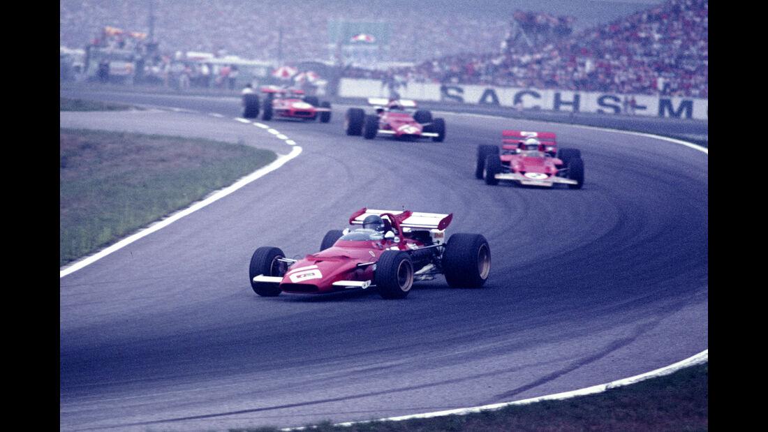 Jacky Ickx - F1 GP Deutschland 1970 - Hockenheimring