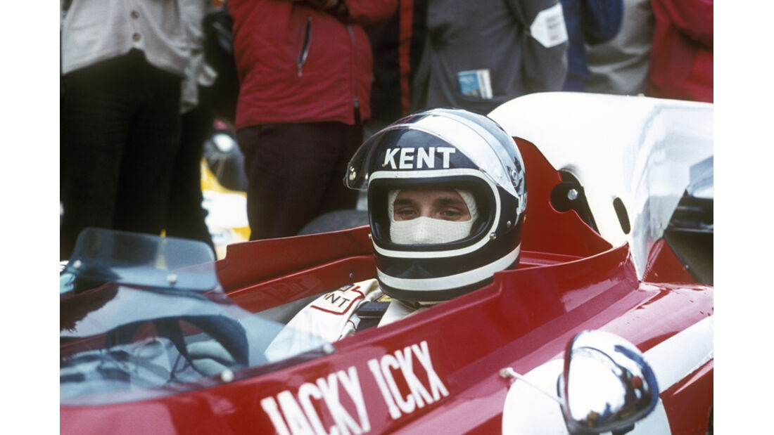 Jacky Ickx Ferarri Monaco 1972
