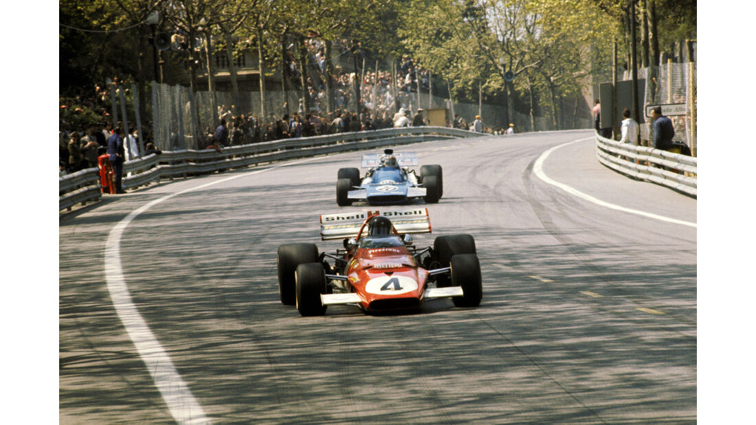 Jacky Ickx - Ferrari 312B-1 - Montjuic Park 1971