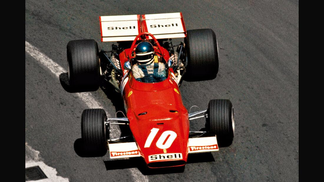 Jacky Ickx - Ferrari 312B - Clermont-Ferrand 1970