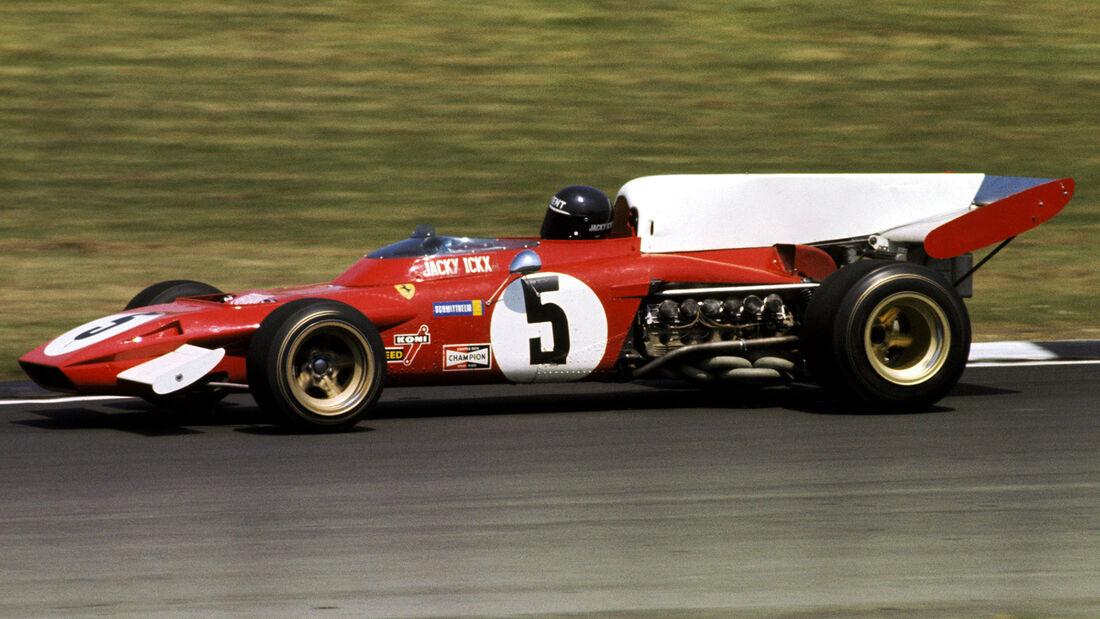 Jacky Ickx - Ferrari 312B2 - GP England 1972