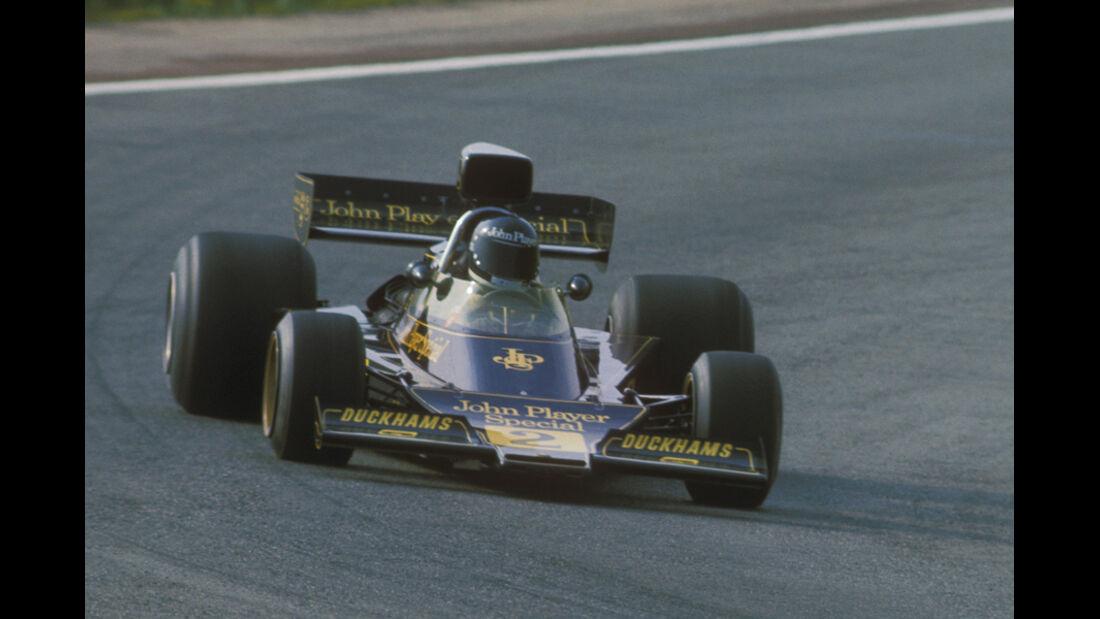 Jacky Ickx Lotus-Ford Spanien 1974