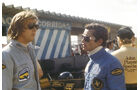 Jacky Ickx Ronnie Peterson Lotus 1975