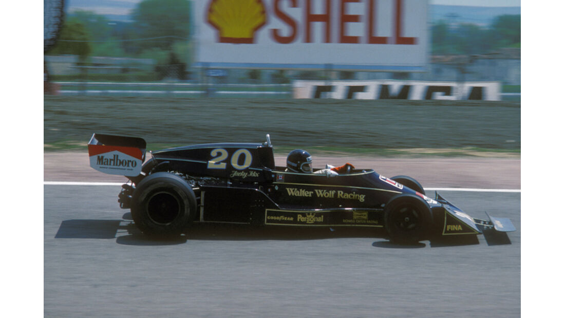 Jacky Ickx Williams Wolf Hesketh-Ford Spanien Jarama 1976
