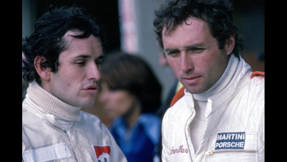 Jacky Ickx und Jochen Mass 1976