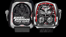 Jacob und Co. Uhr Fast and Furious Twin Turbo