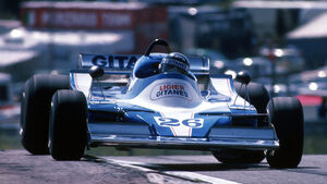 Jacques Laffite 1978 GP Spanien