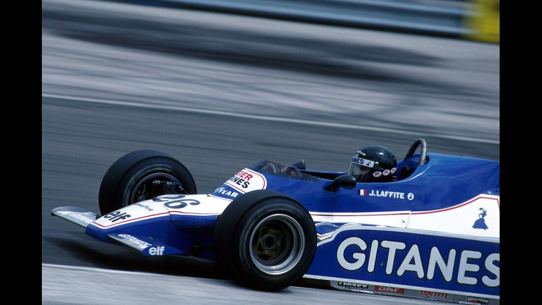 Jacques Laffite 1979 GP Holland