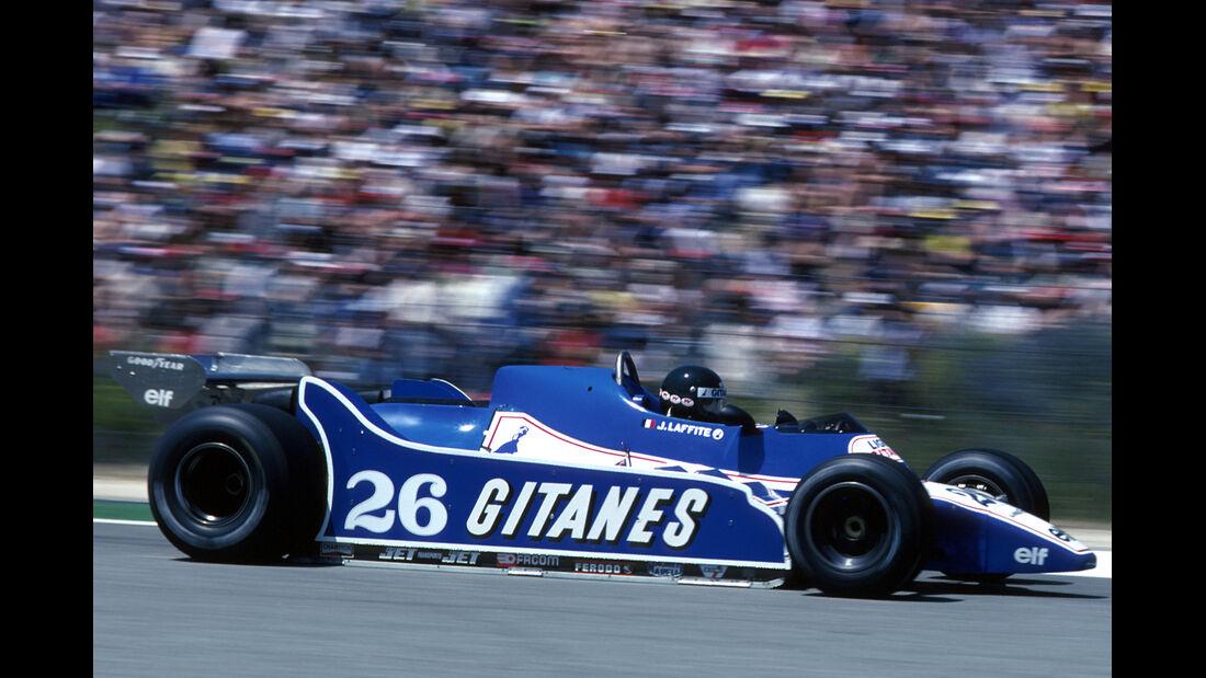 Jacques Laffite 1980 GP Spanien