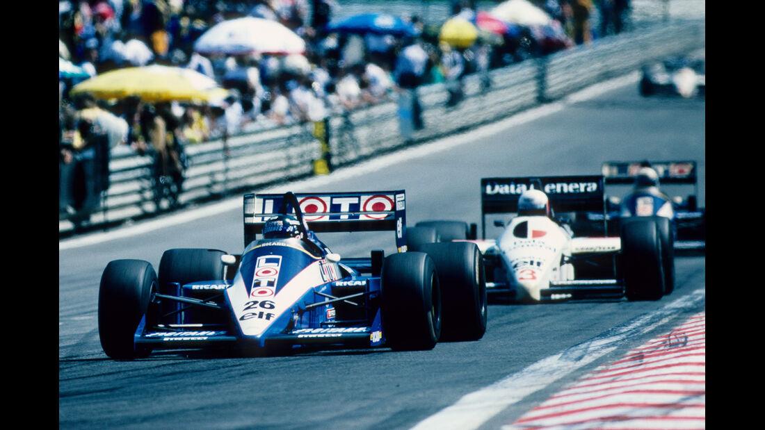 Jacques Laffite 1986 GP Belgien