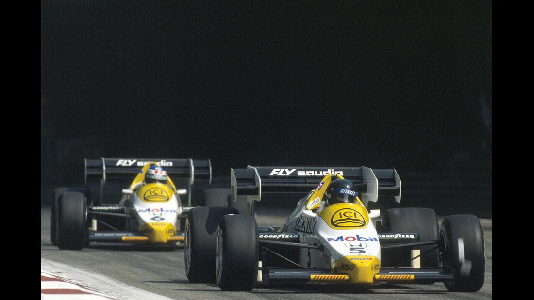 Jacques Laffite Keke Rosberg 1984