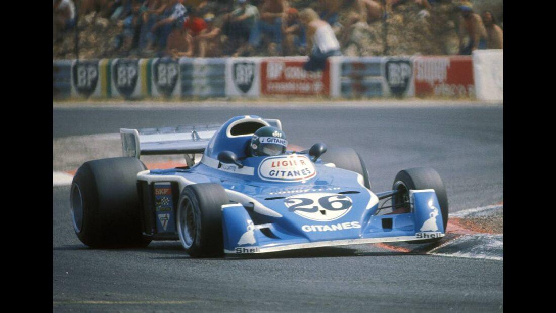 Jacques Laffite Ligier JS5 1976