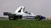 Jacques Laffite - Ligier JS5 - GP Brasilien 1976