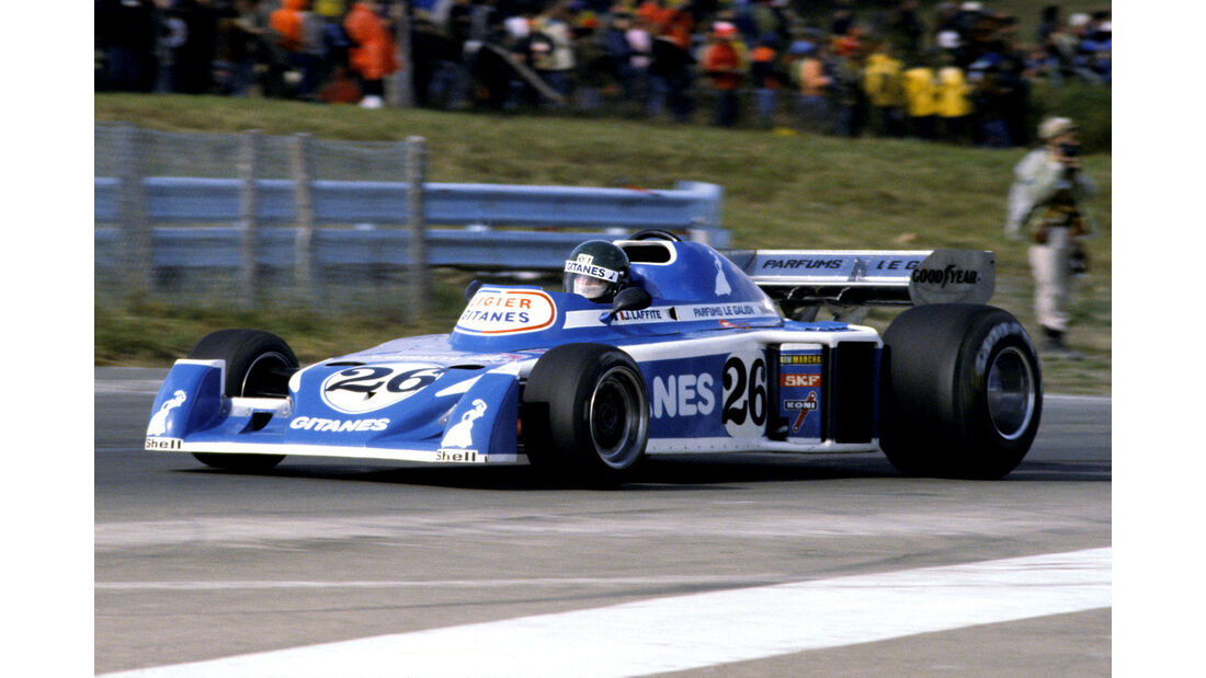 Jacques Laffite - Ligier JS5 - GP USA Ost 1976