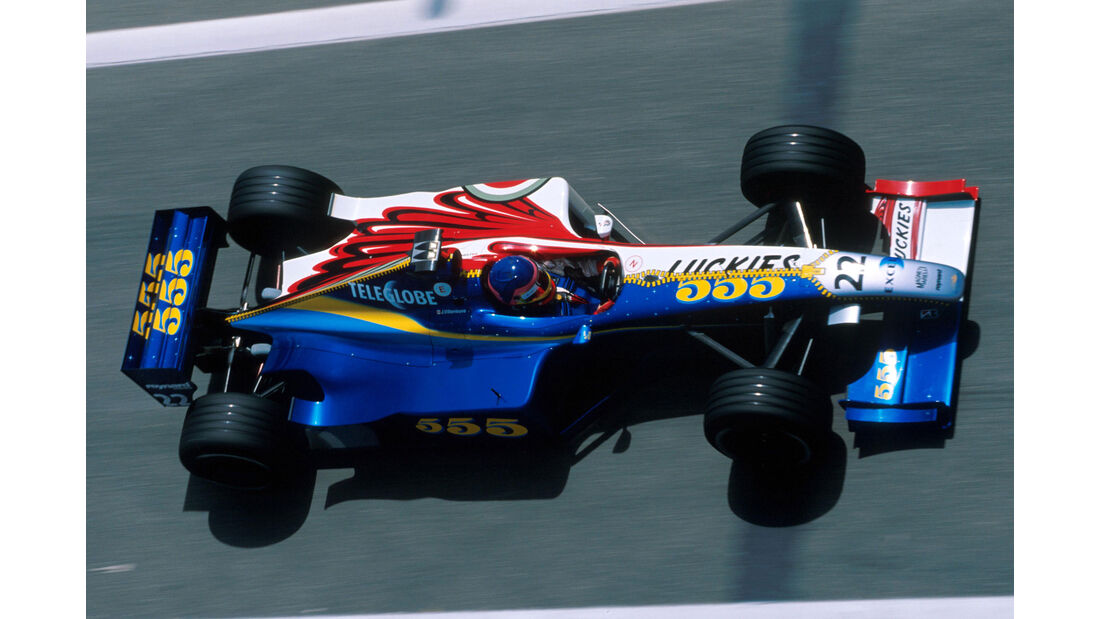 Jacques Villeneuve - BAR Supertec PR01 - GP Spanien 1999