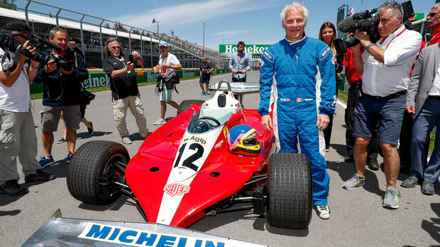 Jacques Villeneuve - Ferrari 312T3 - GP Kanada
