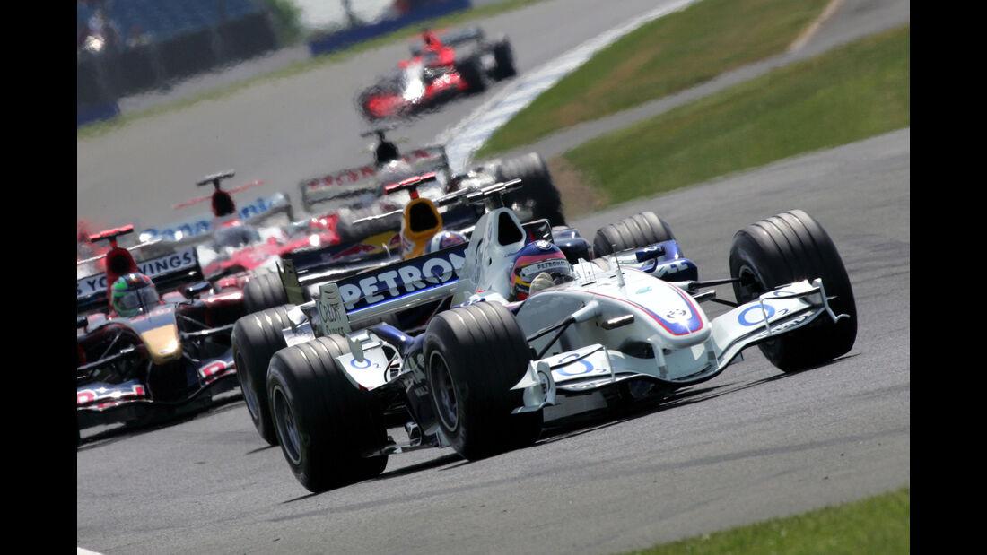 Jacques Villeneuve - GP England 2006