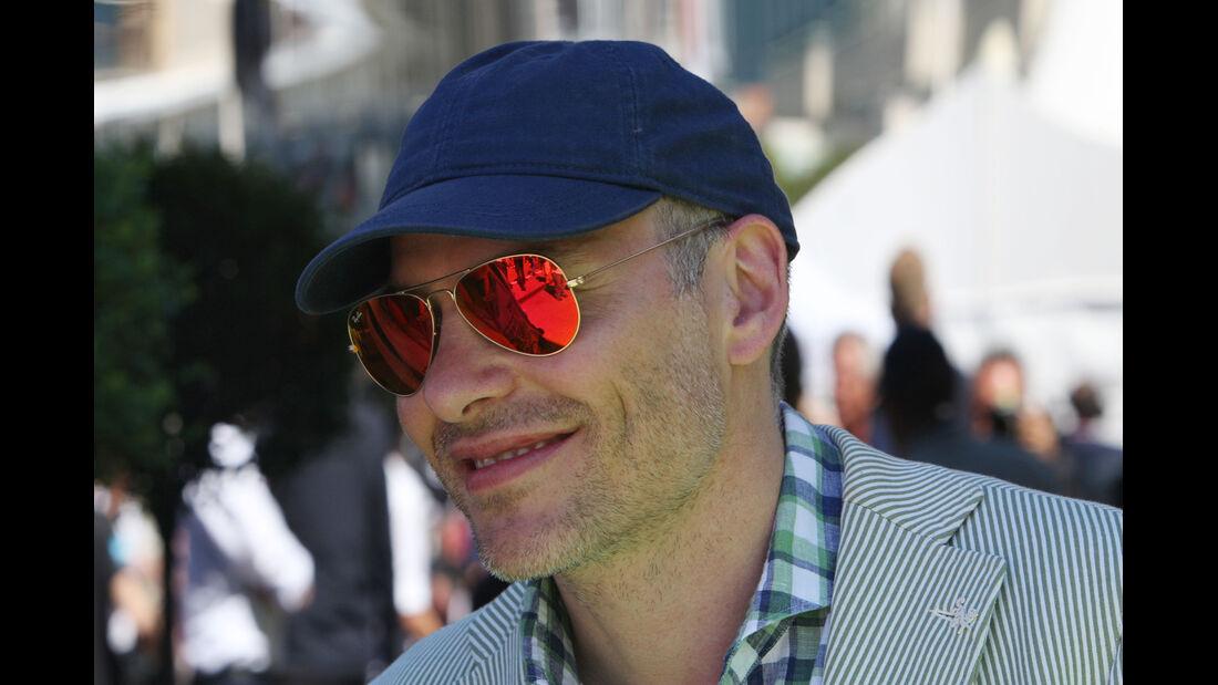 Jacques Villeneuve - GP Monaco 2013 - VIPs & Promis