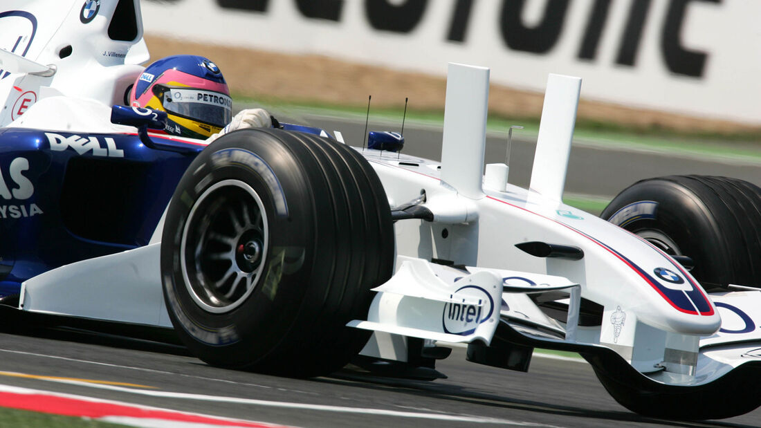 Jacques Villeneuve - Sauber F1.06 - GP Frankreich 2006