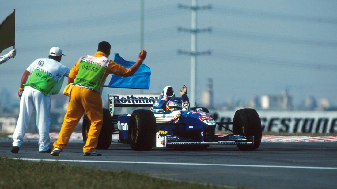 Jacques Villeneuve - Williams FW19 - GP Argentinien 1997