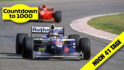 Jacques Villeneuve - Williams - GP Argentinien 1997