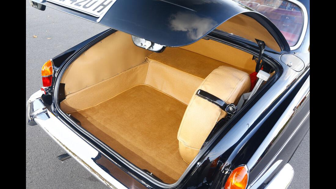 Jaguar  420 G, Kofferraum