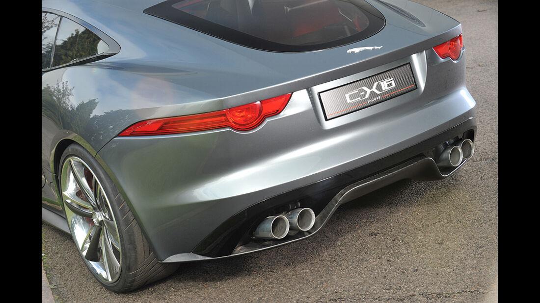 Jaguar C-X16, Sitz