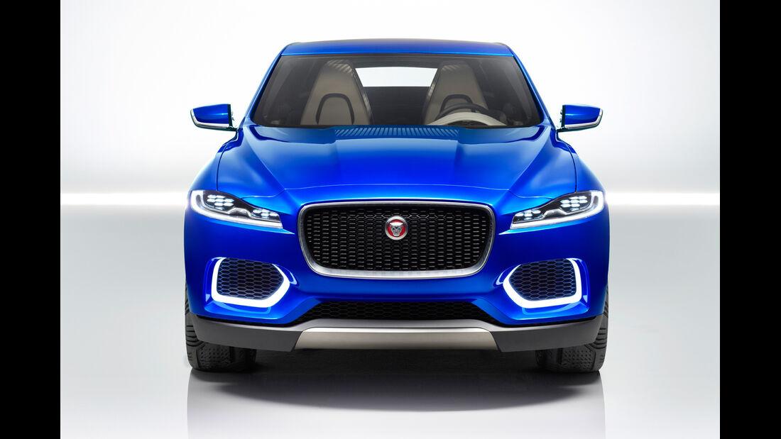 Jaguar C-X17, Frontansicht