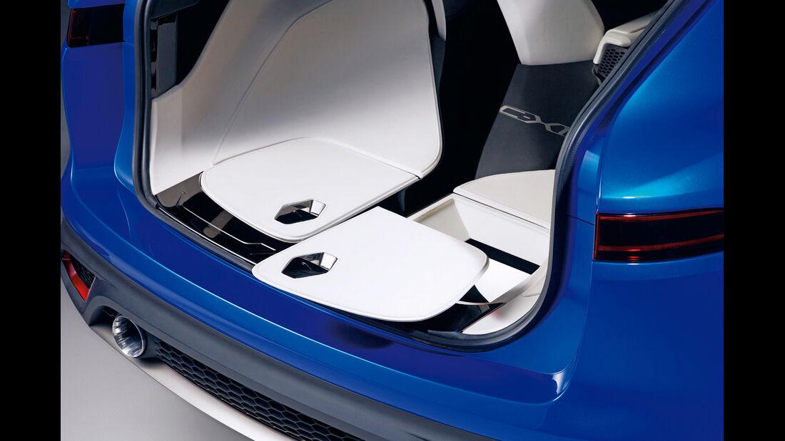 Jaguar C-X17, Picknicksitze