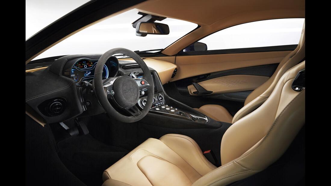 Jaguar C-X75, Cockpit, Fahrersitz