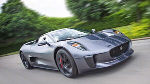 Jaguar C-X75, Frontansicht