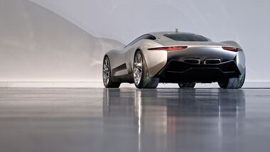 Jaguar C-X75, Heck