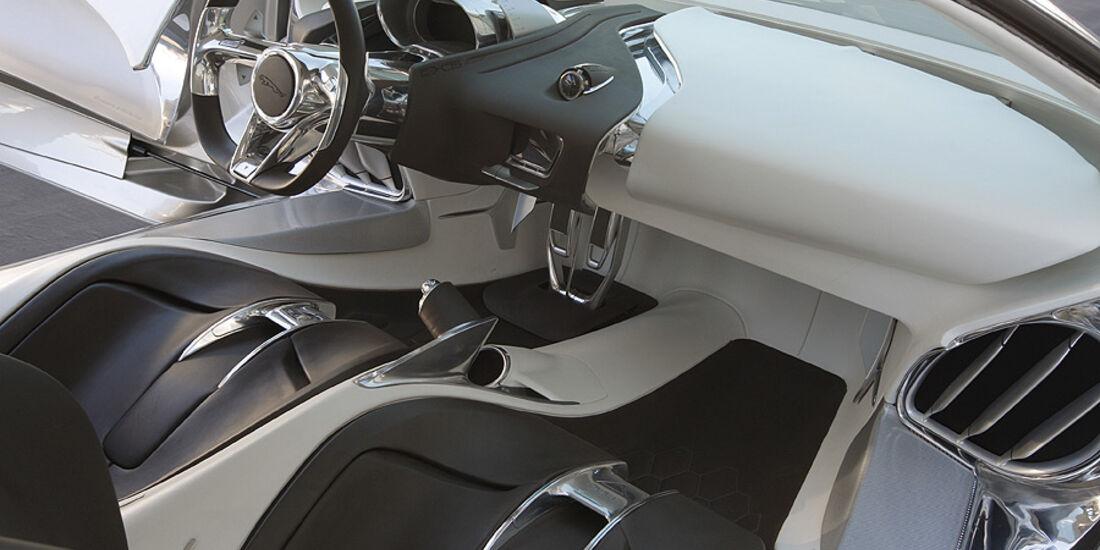 Jaguar C-X75 , Innenraum