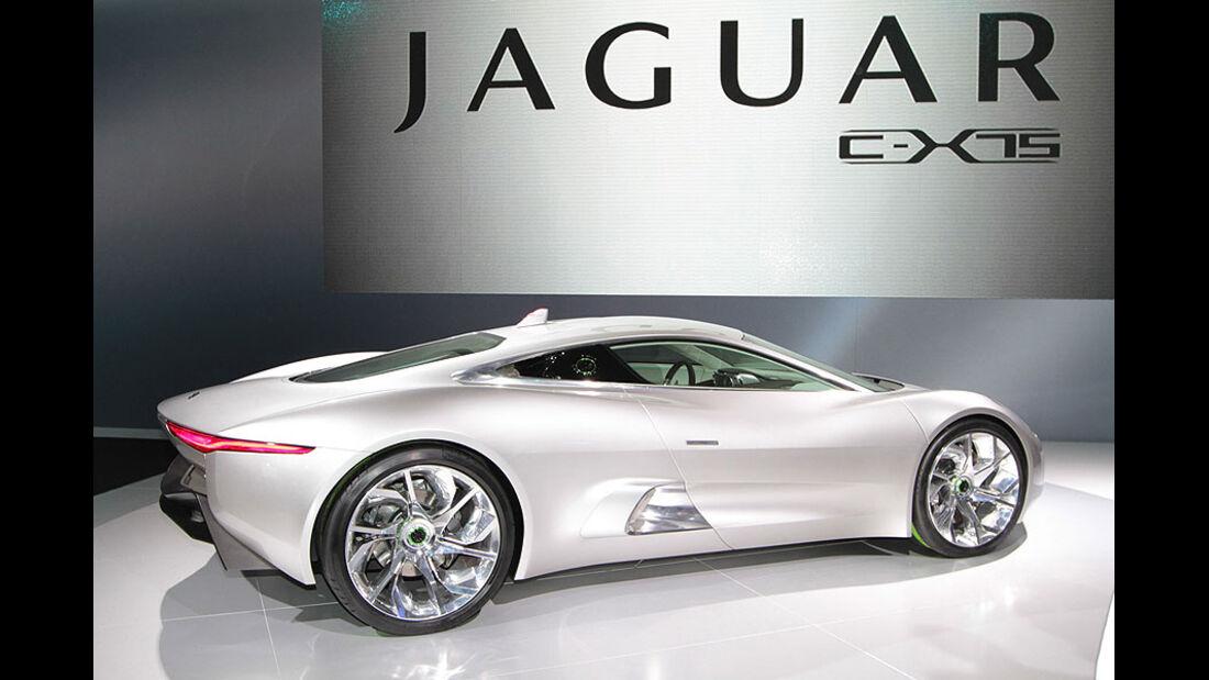 Jaguar C-X75 Paris 2010