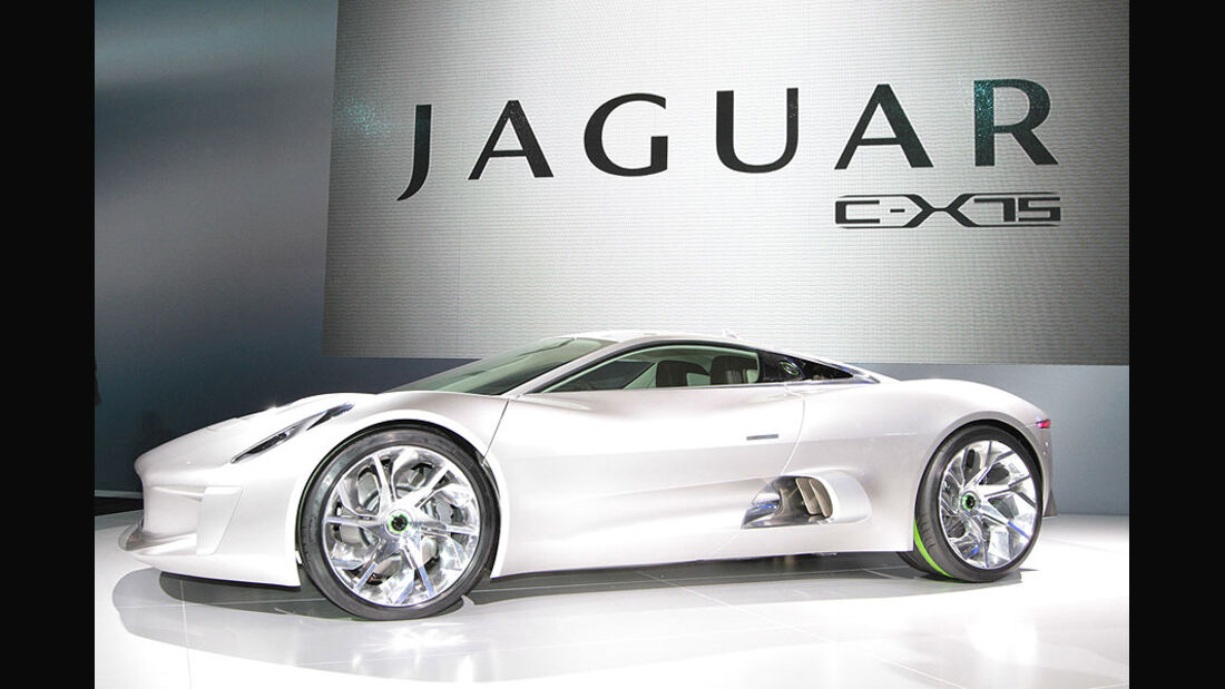 Jaguar C-X75 Paris 2010