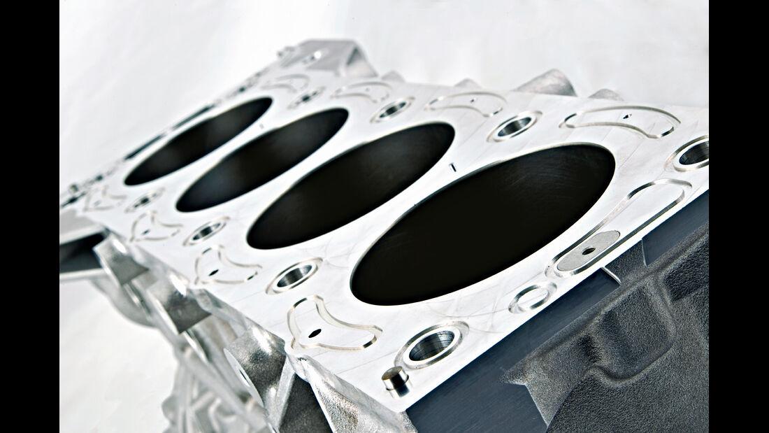Jaguar C-X75, Zylinder
