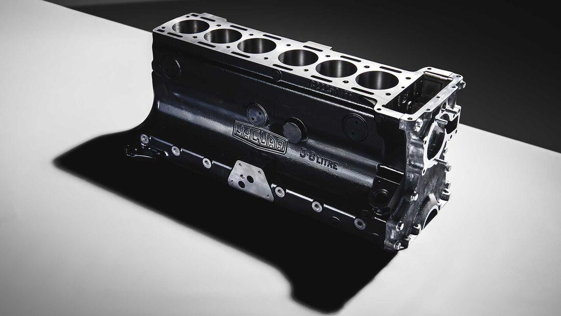 Jaguar Classic Parts 3,8-Liter-Block XK engine