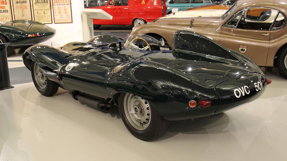 Jaguar D-Type im British Motor Museum