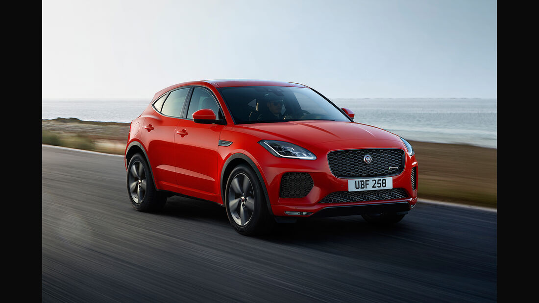 Jaguar E-Pace Chequered Flag Special Edition (2019)