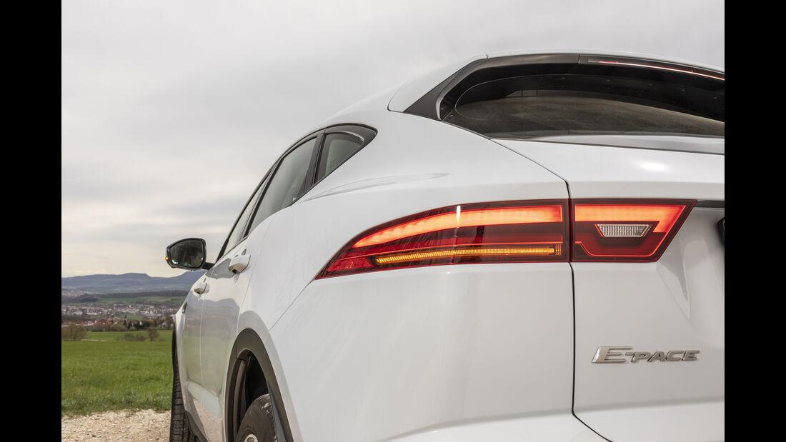 Jaguar E-Pace, Exterieur