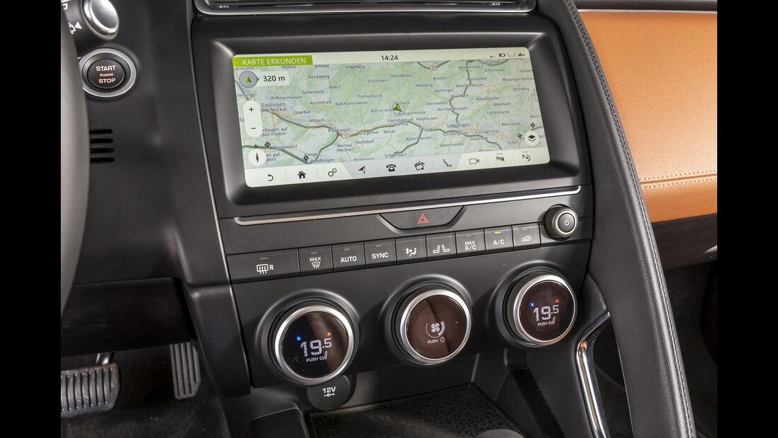 Jaguar E-Pace, Interieur