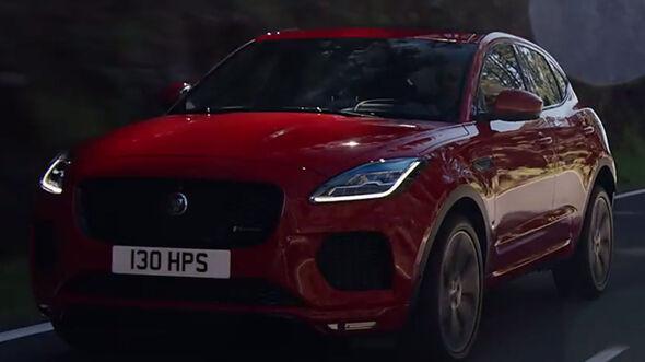Jaguar E-Pace Video