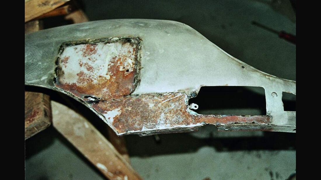 Jaguar E-Typ, Baujahr 1961