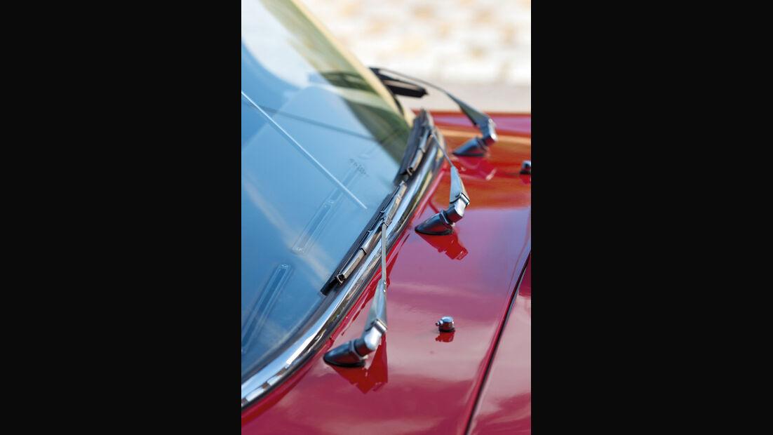 Jaguar E-Type 4.2 Serie 2, Baujahr 1969, Scheibenwischer