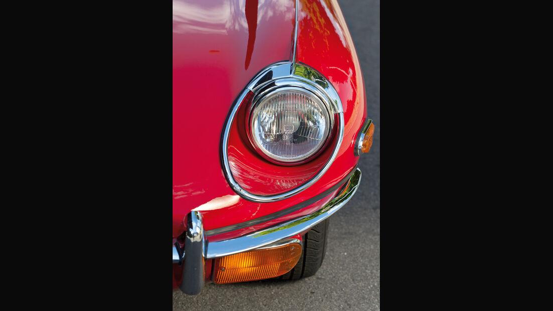 Jaguar E-Type 4.2 Serie 2, Baujahr 1969, Scheinwerfer