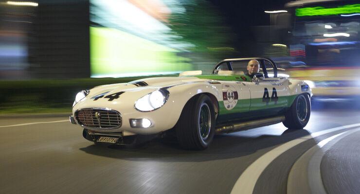 Jaguar E-Type Group 44, Seitenansicht