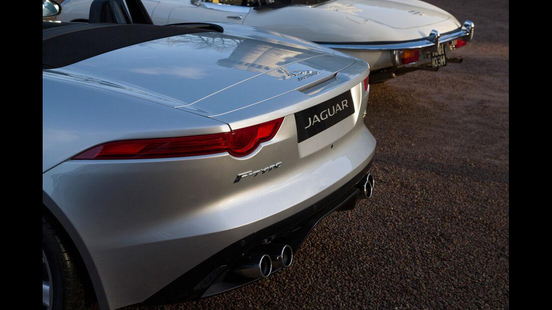 Jaguar E-Type, Jaguar F-Type, Heck