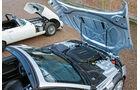 Jaguar E-Type, Jaguar F-Type, Motorhaube