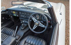 Jaguar E-Type, Lenkrad, Cockpit