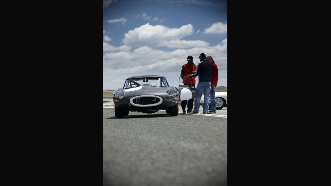 Jaguar E-Type Lightweight, Fahrbericht